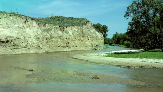 Arikaree River in Cheyenne County before 1990