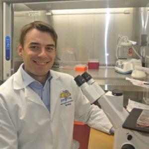 Assistant professor Diego Diel