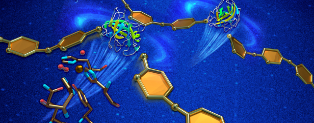Neutrons run enzyme's reactivity for better biofuel production