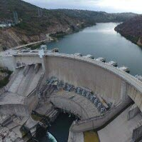 A hydroelectric dam in Chile