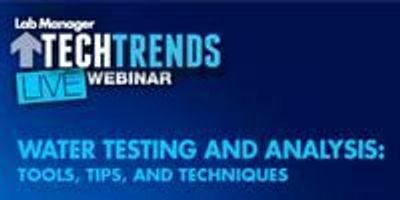 Webinar: Water Testing and Analysis: Tools, Tips, and Techniques