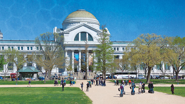 The Smithsonian Museum of Natural History