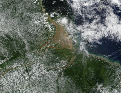 View of the Amazon basin