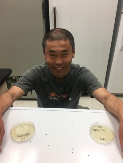 Postdoctoral researcher Shinichiro Enomoto