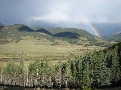 The Upper Rio Grande near Creede, Colorado