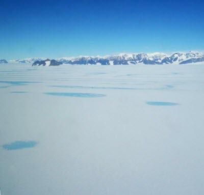 Meltwater Pools on Larsen C Ice Shelf