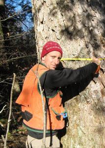 University of Vermont forest ecologist Bill Keeton
