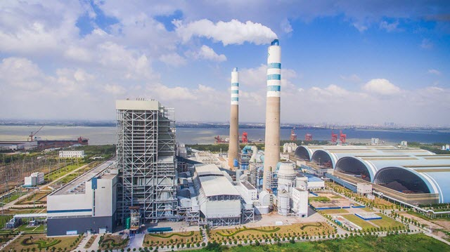 Ultra-low emissions control equipment in China