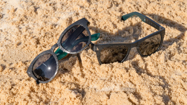 sunglasses made from recycled ocean plastic