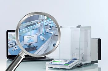 METTLER TOLEDO's XPR Analytical Balance plus LabX®