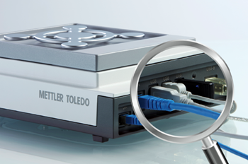 METTLER TOLEDO XPR Analytical balance easy connectivity