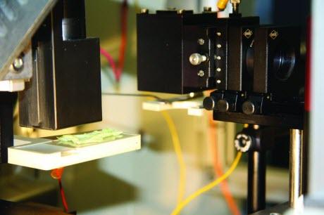 Custom-built laser source for mass spectrometry imaging