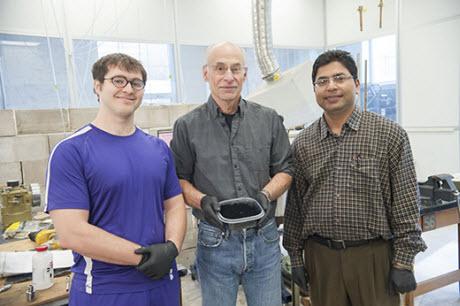 Kansas State University researchers with graphene