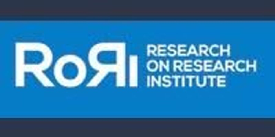 Research on Research Institute (RoRI) Launches to Enable More Strategic, Open, Diverse, and Inclusive Research