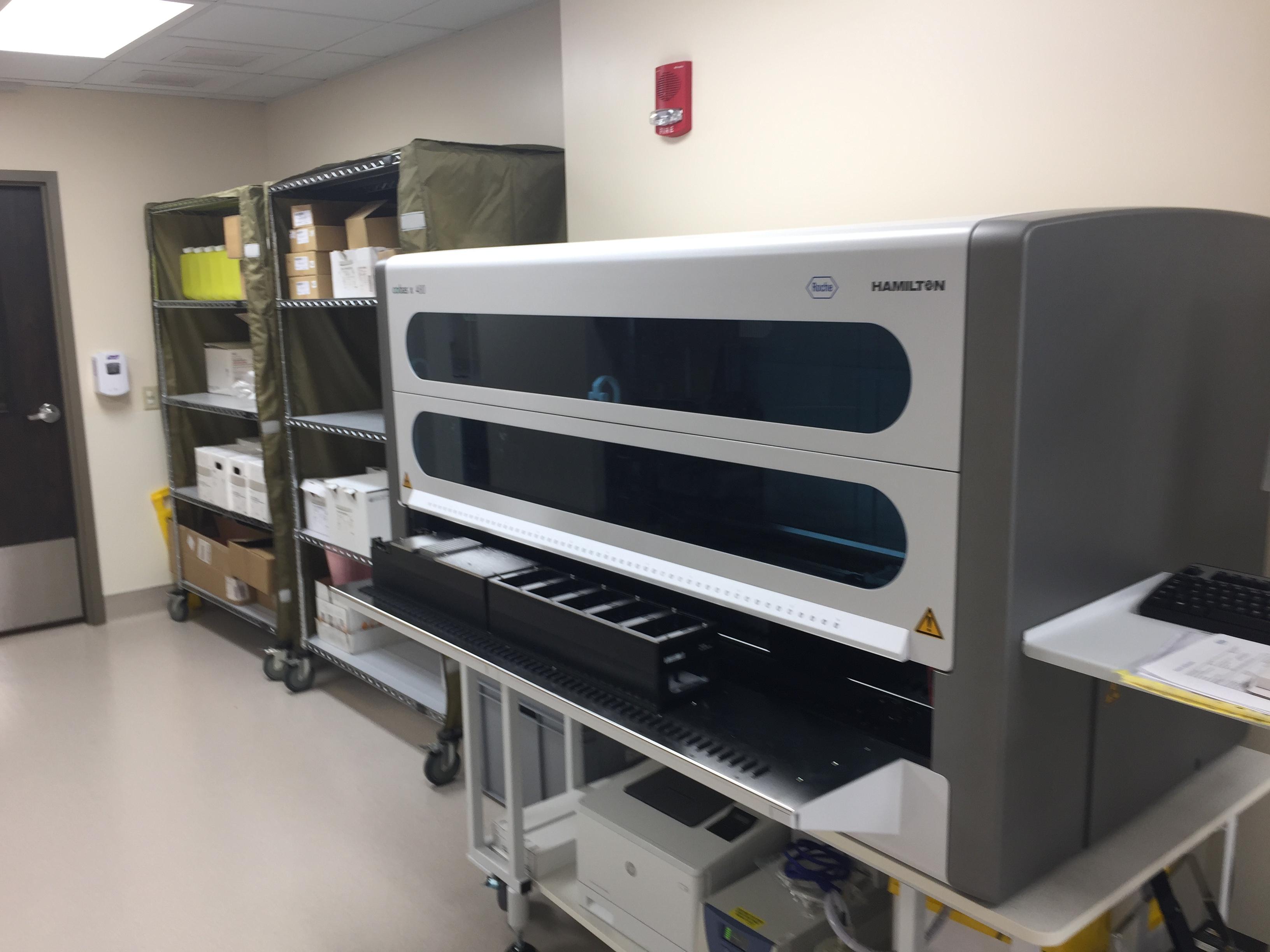 Molecular lab at Conemaugh Memorial Medical Center