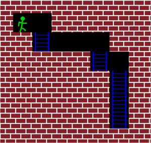 computer game maze