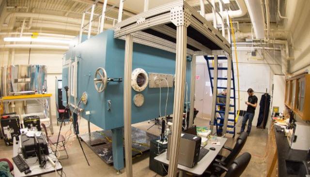 Michigan Tech cloud chamber