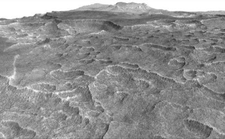 Scalloped Terrain on Mars