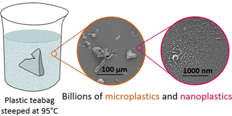 Plastic teabags release billions of microscopic particles into tea