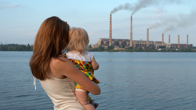 childhood exposure to air pollution may impact mental health