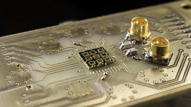 Quantum Processor Semiconductor Chip