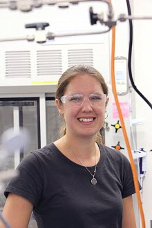 Stanford PhD student Linsey Seitz