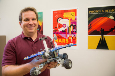 Assistant Professor of Physics and Astronomy Christopher Edwards