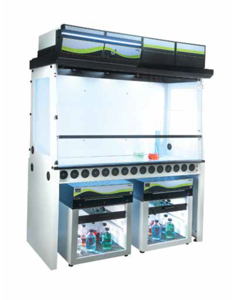 Why Erlab's Ductless Filtering Fume Hoods & Storage Cabinets are Different