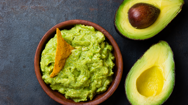 avocado and guacamole