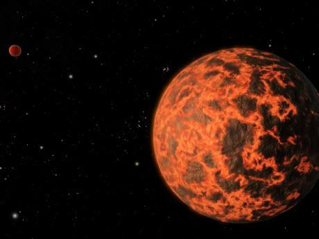 hot, rocky planet