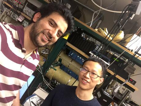 Dr. Navneet Sharma and Qian Zhong of UT Dallas