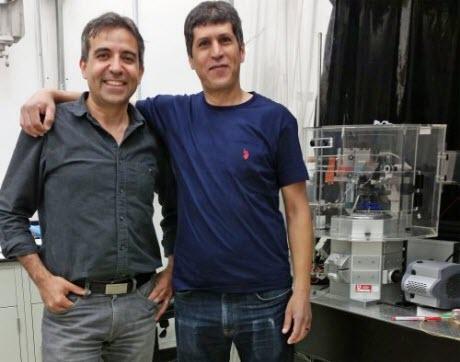 University of Utah researchers Saveez Saffarian and Mourad Bendjennat