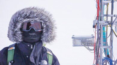 Greenland ice researcher
