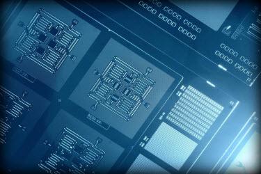 IBM Four Qubit Square Circuit