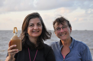 Patricia Yager, left, and Debbie Steinberg