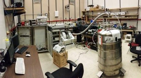 University of Utah physics laboratory