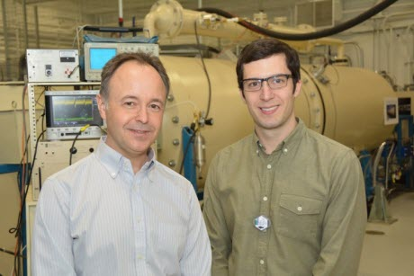 University of Michigan Professor Igor Jovanovic and Graduate Student Jason Nattress